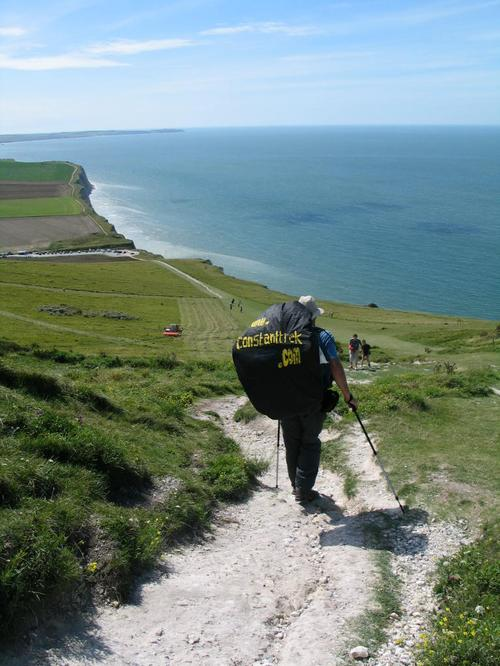 Great view from Point Blanc Nez