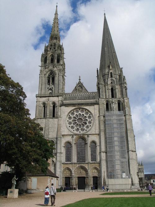 Chartres Cathederal facade