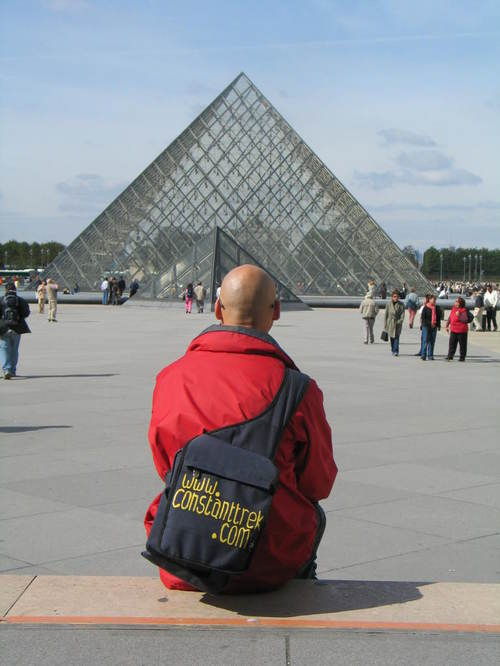 Gary and the Louvre